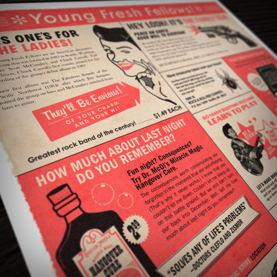 Young Fresh Fellows Vintage Ad Close Up 2